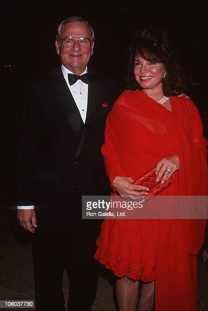 Lee Iacocca and Darrien Earle during Juvenile Diabetes Foundation Gala October 10 1991 at Beverly Hilton Hotel in Beverly Hills California United...