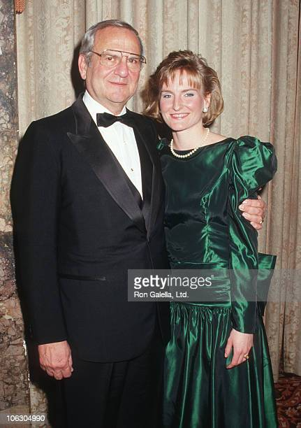 Lee Iacocca and Lia Iacocca during Juvenile Diabetes Foundation Fundraiser March 31 1987 at Waldorf Hotel in New York City New York United States