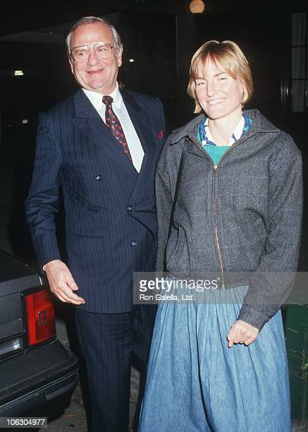 Lee Iacocca and Lia Iacocca during Lee Iacocca Sighted at Elio's Restaurant at Elio's Restaurant in New York City New York United States