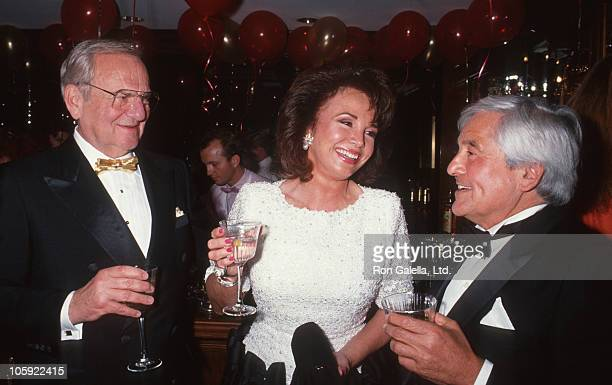 Lee Iacocca Darrien Earle and Fred Hayman during Fred Hayman Launches New Perfume with Love at Rodeo Drive Store in Beverly Hills California United...