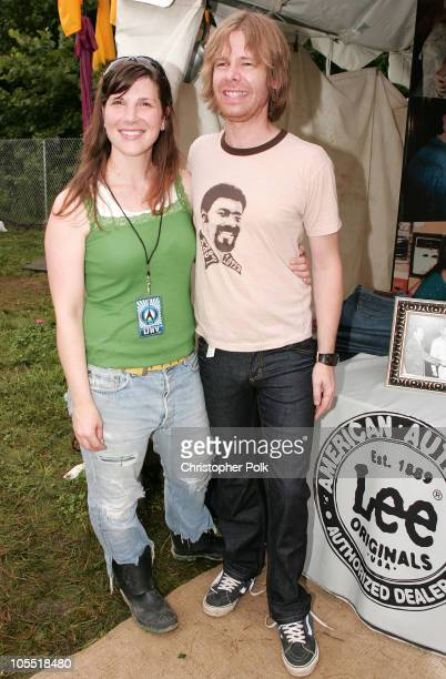 """Lee Jeans had artists sign jean pockets to be auctioned at """"Lee National Denim Day"""" with proceeds benefitting the Susan G. Komen Breast Cancer..."""