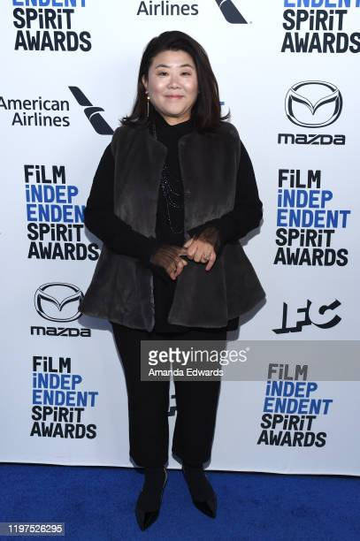 Lee Jeongeun attends the 2020 Film Independent Spirit Awards Nominees Brunch at BOA Steakhouse on January 04 2020 in West Hollywood California