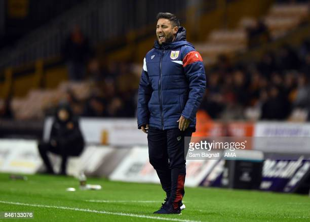 Lee Johnson manager / head coach of Bristol City during the Sky Bet Championship match between Wolverhampton and Bristol City at Molineux on...