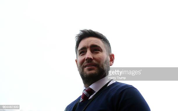 Lee Johnson Manager of Bristol City during the Sky Bet Championship match between Bristol City and Norwich City at Ashton Gate on January 13 2018 in...