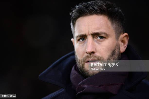 Lee Johnson manager of Bristol City in looks on during the Sky Bet Championship match between Sheffield United and Bristol City at Bramall Lane on...