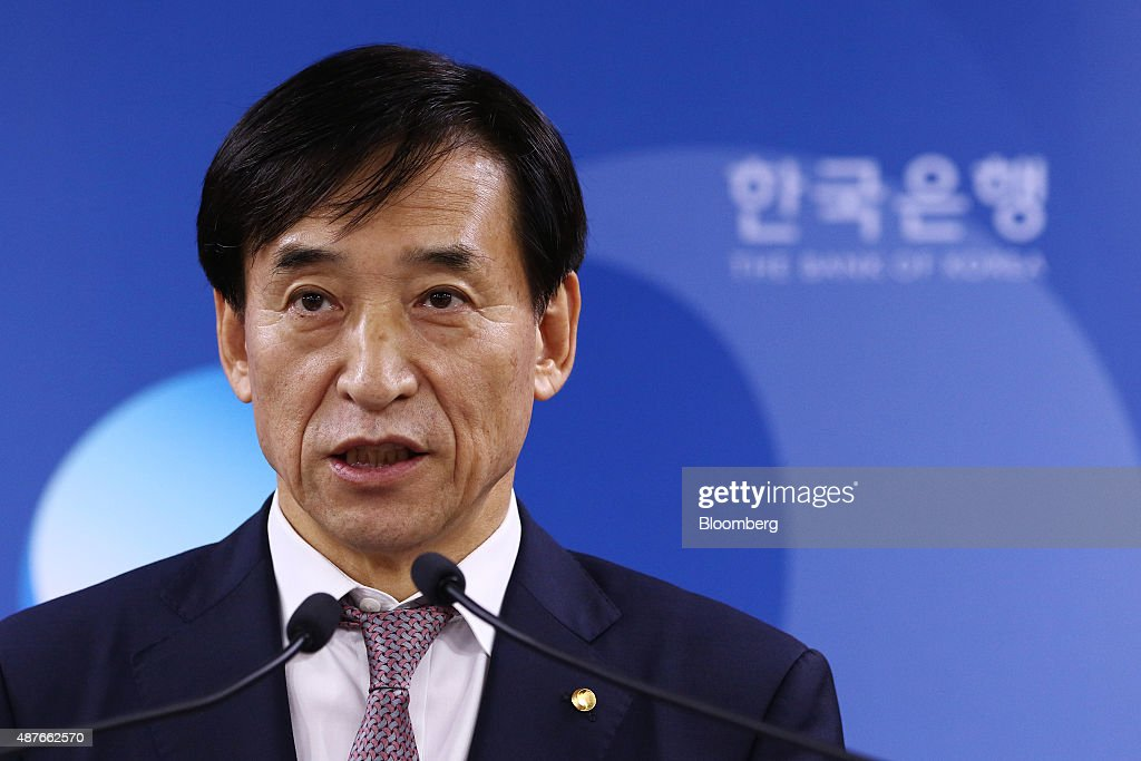 Bank Of Korea Governor Lee Ju Yeol At Rate Decision Meeting As Key Rate Held At 1.5%