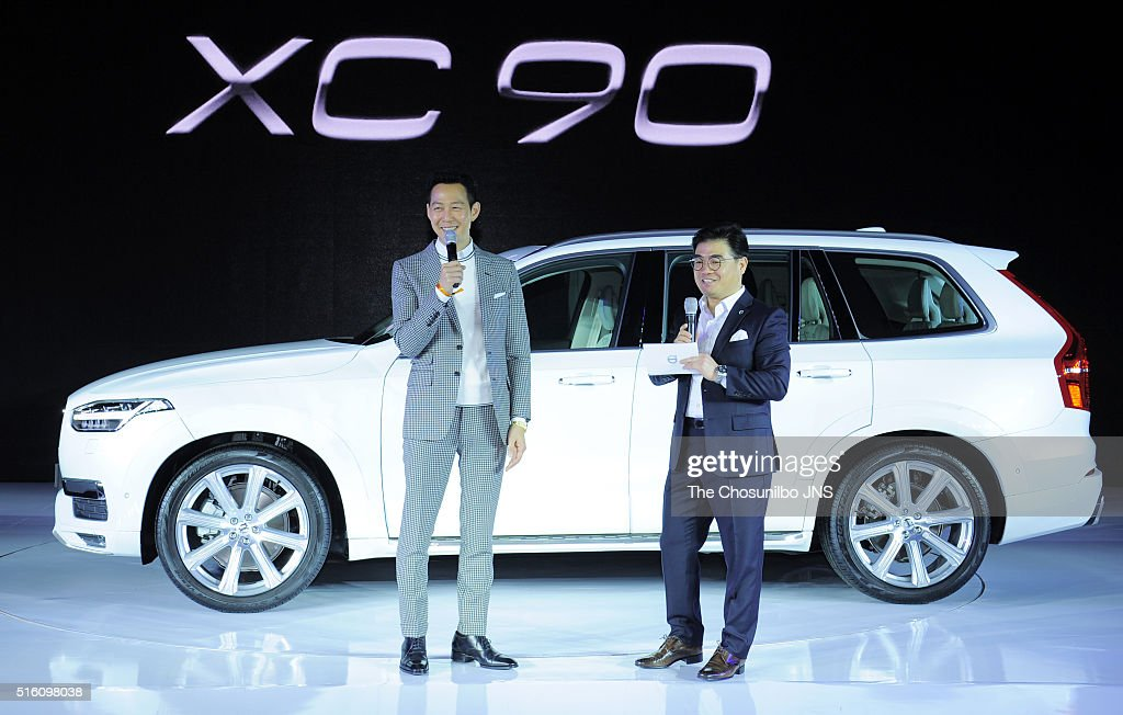 Lee Jung Jae Attends Volvou0027s New Car Launching Show At DDP On March 2,