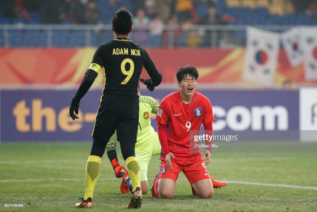 AFC U23 Championship Quarter-final: South Korea v Malaysia