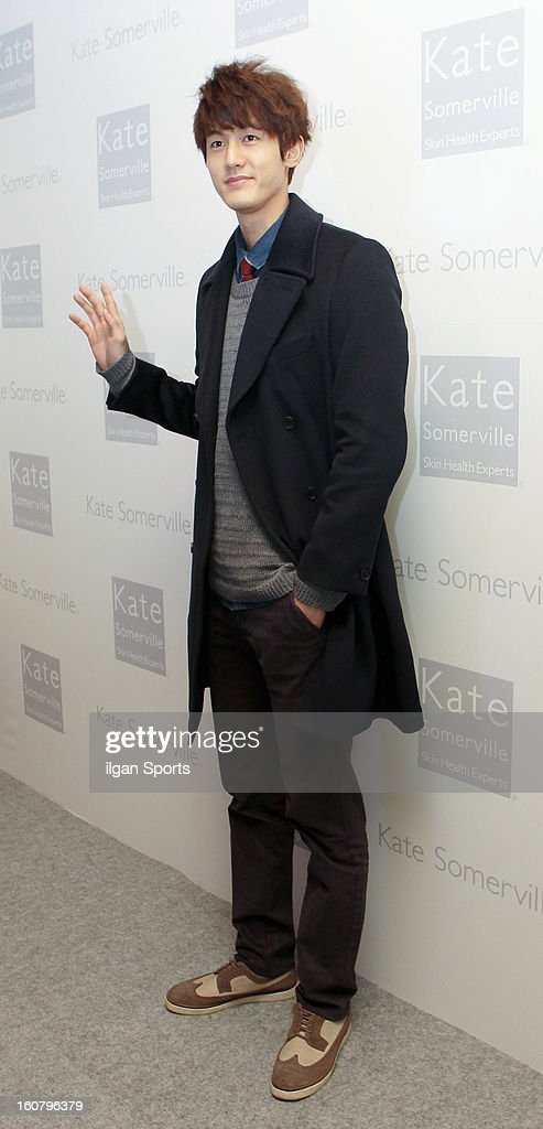 Lee Ki-Woo attends the 'Kate Somerville' Launch Event at Park Hyatt Seoul on February 5, 2013 in Seoul, South Korea.