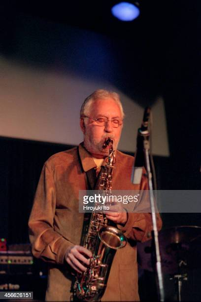 Lee Konitz Trio performing at the Blue Note on Tuesday night September 12 2000This imageLee Konitz