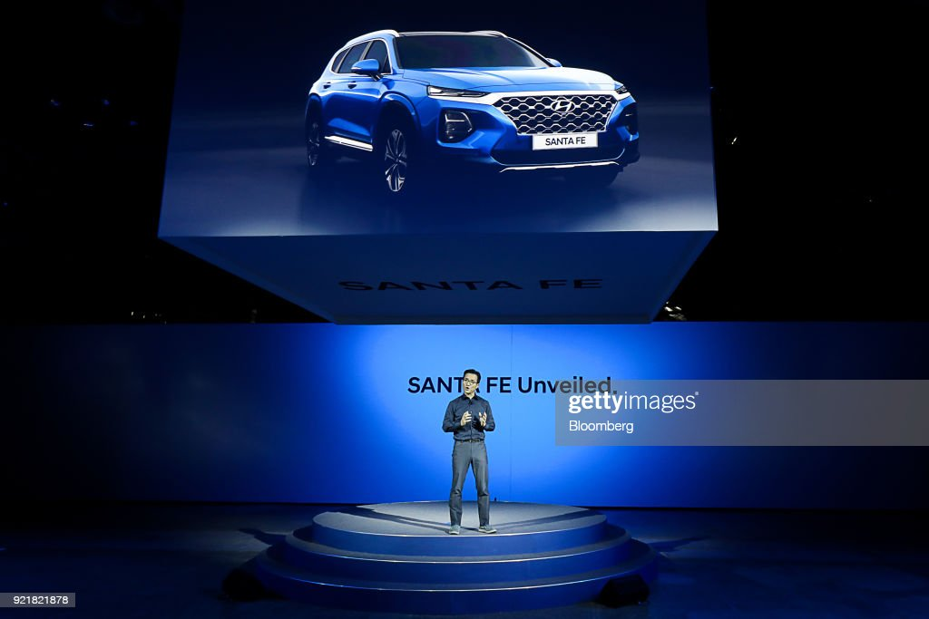 Hyundai Motor Co. Unveils New Model of the SantaFe SUV
