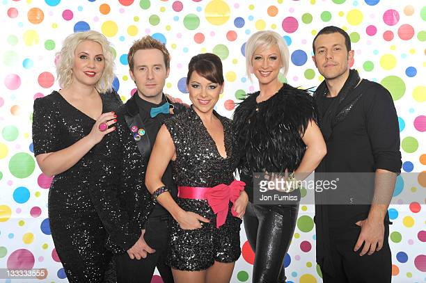 Lee LatchfordEvans Claire Richards Lisa ScottLee Faye Tozer and and Ian 'H' Watkins Known as 'Steps' backstage during BBC Children in Need on...
