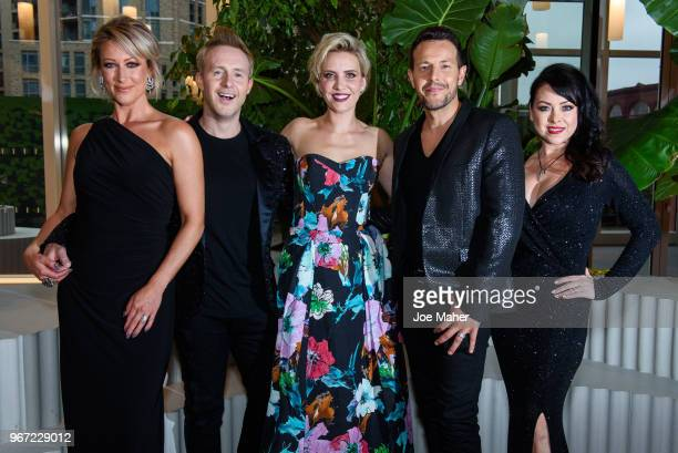 Lee LatchfordEvans Faye Tozer Claire Richards Lisa ScottLee and Ian 'H' Watkins at the DVD launch of 'Steps Party On The Dancefloor' at the Everyman...