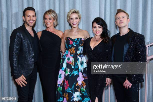 Lee LatchfordEvans Faye Tozer Claire Richards Lisa ScottLee and Ian 'H' Watkins of 'Steps' at the DVD launch of 'Steps Party On The Dancefloor' at...