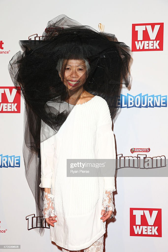 Lee Lin Chin arrives at the 57th Annual Logie Awards at Crown Palladium on May 3, 2015 in Melbourne, Australia.