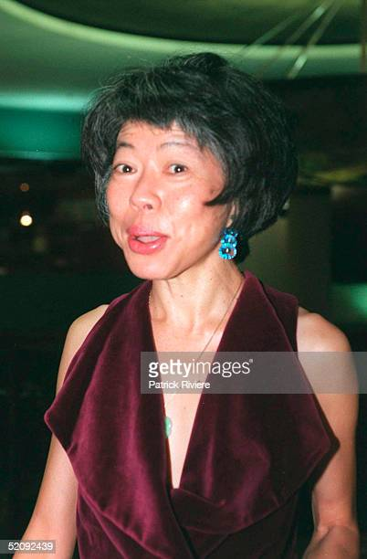Lee Lin Chin pictured at the Asia Pacific Film Festival at the Atrium in April 2000 in China Town Sydney Australia