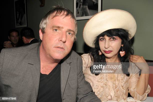 Lee Mack and Colette attend RON GALELLA Book Party for 'VIVA L'ITALIA' Hosted by PATRICK MCMULLAN at Pasta Bar at Ancora on September 22 2009 in New...