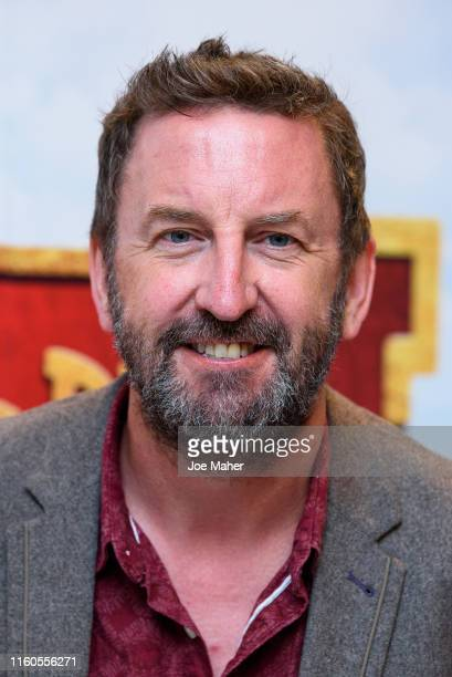 """Lee Mack attends the """"Horrible Histories The Movie"""" World Premiere at Odeon Luxe Leicester Square on July 07, 2019 in London, England."""