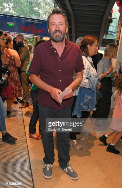 Lee Mack attends the press night performance of Matthew Bourne's Romeo And Juliet at Sadler's Wells Theatre on August 11 2019 in London England
