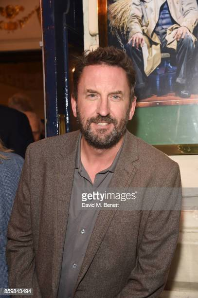 Lee Mack attends the press night performance of Mel Brooks' Young Frankenstein at The Garrick Theatre on October 10 2017 in London England