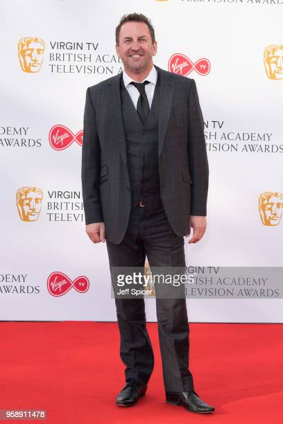 Lee Mack attends the Virgin TV British Academy Television Awards at The Royal Festival Hall on May 13 2018 in London England