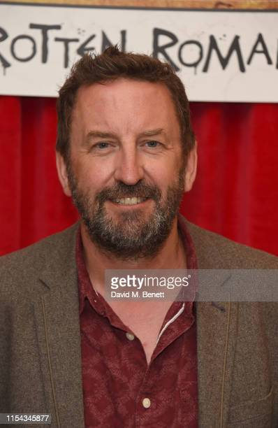 Lee Mack attends the World Premiere of Horrible Histories The Movie Rotten Romans at Odeon Luxe Leicester Square on July 6 2019 in London England