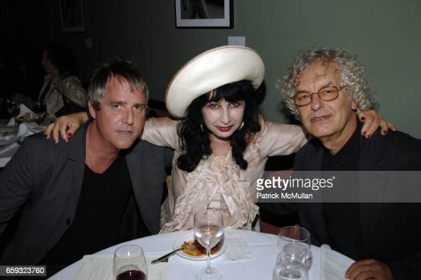 Lee Mack Colette and Anton Perich attend the Ron Galella Book Party for 'Viva L'Italia' hosted by Patrick McMullan at the Pasta Bar at Ancora on...