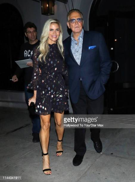Lee Majors and Faith Majors are seen on May 15 2019 in Los Angeles California