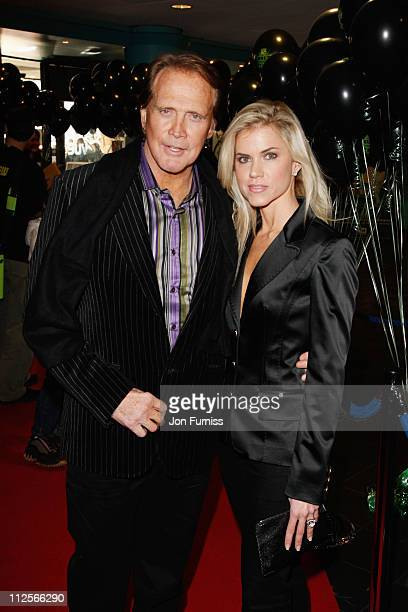 Lee Majors and Faith Majors arrives at the Ben 10 Race Against Time premiere at the Vue Cinema Leicester Square on February 10 2008 in London England