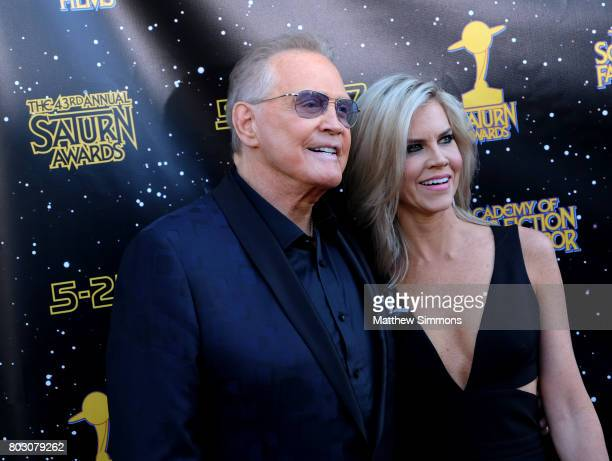Lee Majors and Faith Majors attend the 43rd Annual Saturn Awards at The Castaway on June 28 2017 in Burbank California