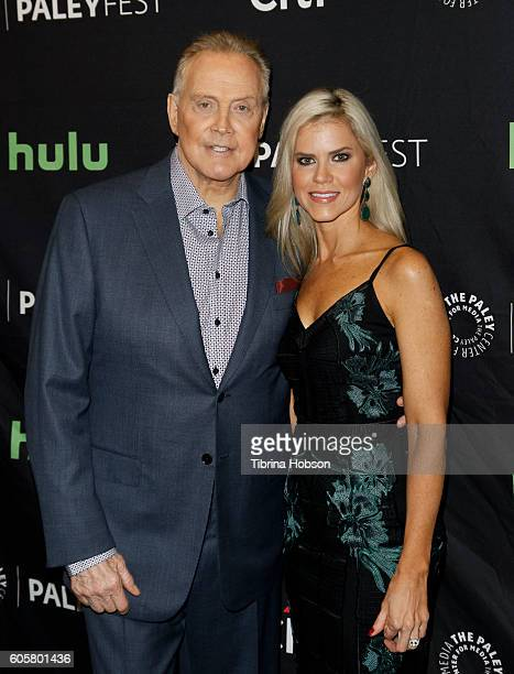 Lee Majors and Faith Majors attend The Paley Center for Media PaleyFest 2016 fall TV preview for STARZ at The Paley Center for Media on September 14...