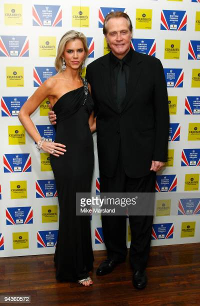 Lee Majors and guest attend the British Comedy Awards on December 12, 2009 in London, England.