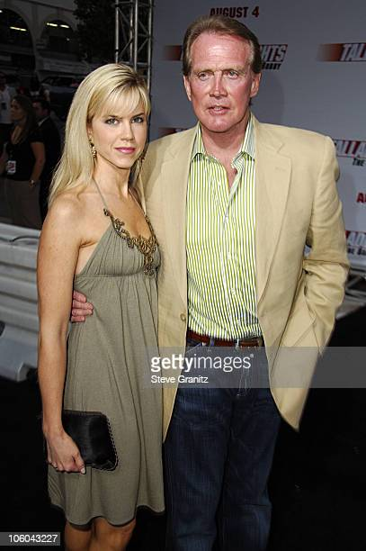 """Lee Majors and Wife during """"Talladega Nights: The Ballad of Ricky Bobby"""" Los Angeles Premiere - Arrivals at Grauman's Chinese Theatre in Hollywood,..."""