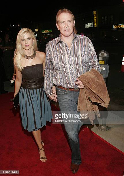 """Lee Majors and wife during """"TV The Movie"""" Los Angeles Premiere and Party at Majestic Crest Theater in Westwood, CA, United States."""