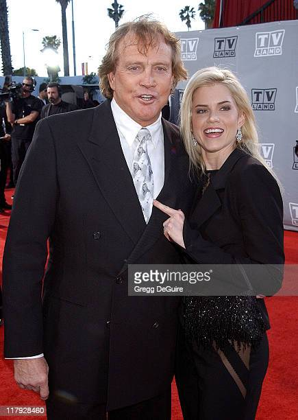 Lee Majors and wife Faith during TV Land Awards A Celebration of Classic TV Arrivals at Hollywood Palladium in Hollywood California United States