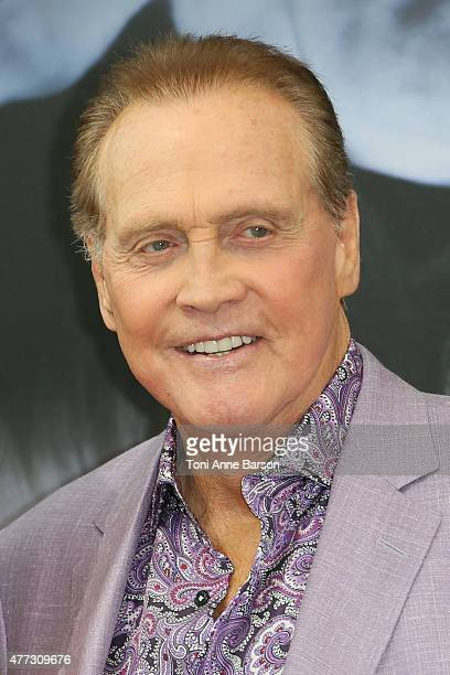 """Lee Majors from the TV series """"The Six Million Dollar Man"""" attends the 55th Monte Carlo TV Festival on June 16, 2015 in Monte-Carlo, Monaco."""