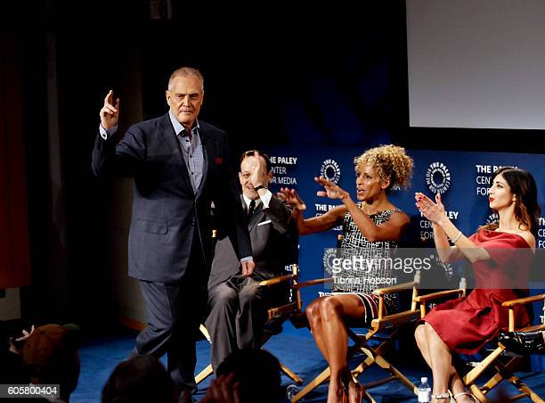 Lee Majors Ted Raimi Michelle Hurd and Dana DeLorenzo attend The Paley Center for Media PaleyFest 2016 fall TV preview for STARZ at The Paley Center...