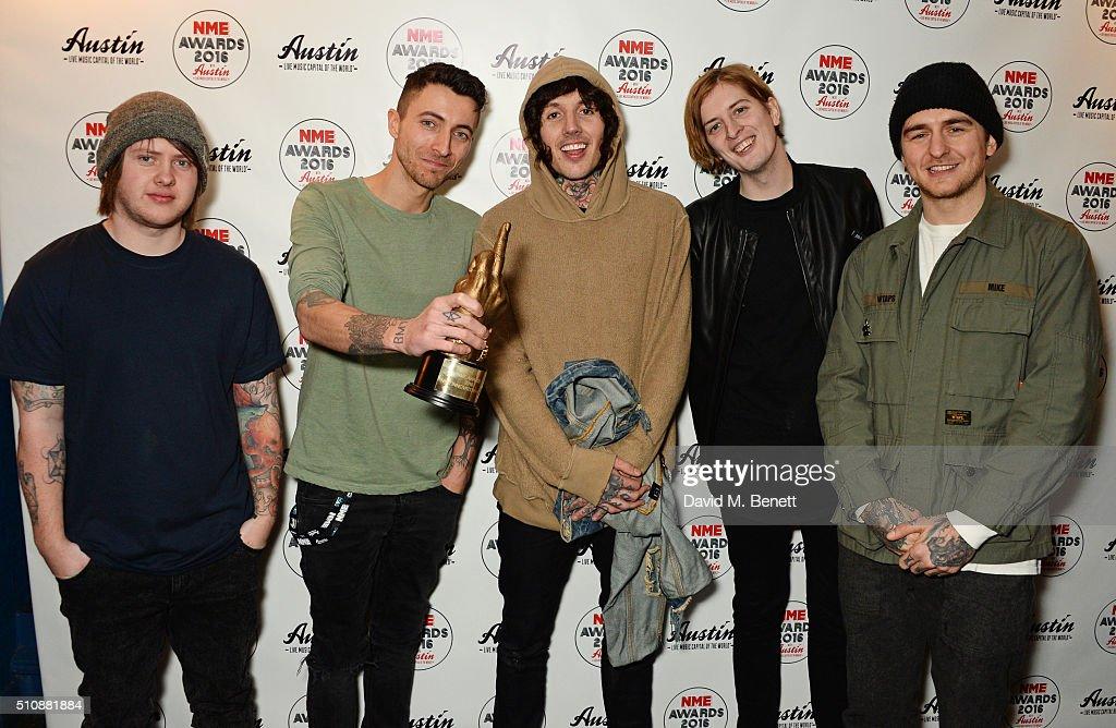 NME Awards - Winners : News Photo
