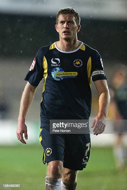 Lee Mansell of Torquay United in action during the npower League Two match between Torquay United and Northampton Town at Plainmoor on December 15...