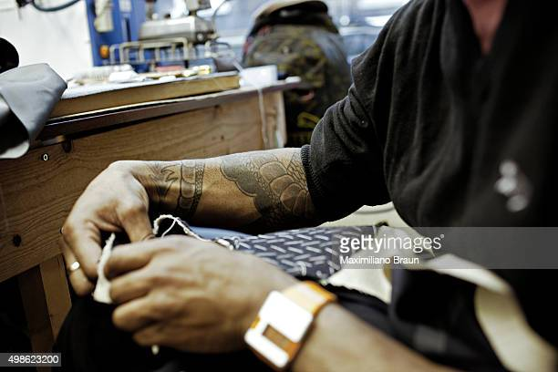 KINGDOM FEBRUARY 2010 Lee Marsh working on a coat at Hunstman Lee is a freelance tailor for Huntsman The more work he gets done through the day the...