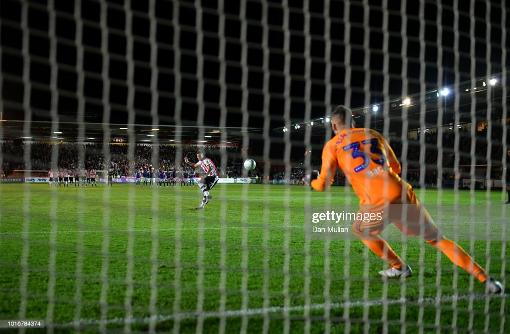 Exeter City v Ipswich Town - Carabao Cup First Round : News Photo