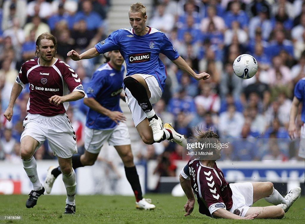 Rangers V Hearts : News Photo