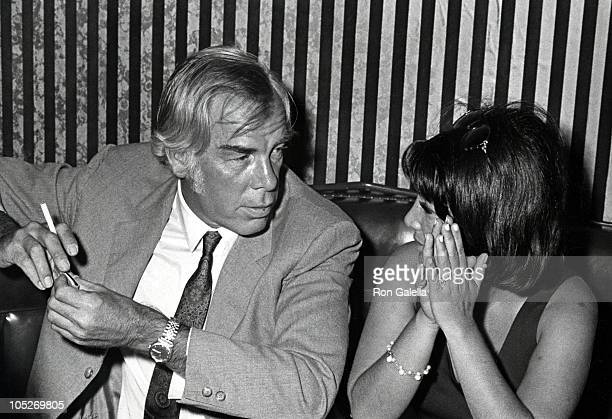 Lee Marvin and Girlfriend Michelle Triola during 1979 Photoplay Awards at Merv Griffin Studios in Los Angeles California United States