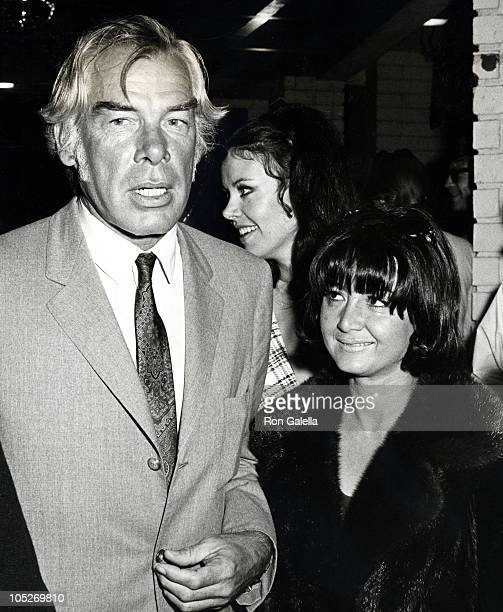 Lee Marvin and Michelle Triola during 1979 Photoplay Awards at Merv Griffin Studios in Los Angeles California United States
