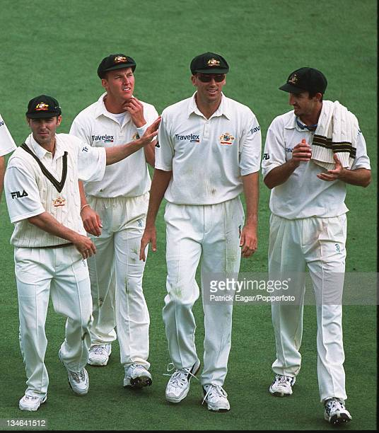 Lee McGrath and Gillespie England v Australia 2nd Test Lord's Jul 01