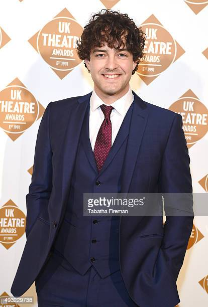 Lee Mead attends the UK Theatre Awards 2015 at The Guildhall on October 18 2015 in London England