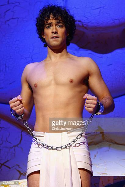 Lee Mead performs during a photocall for Joseph And The Amazing Technicolor Dreamcoat, at the Adelphi Theatre on July 13, 2007 in London, England.