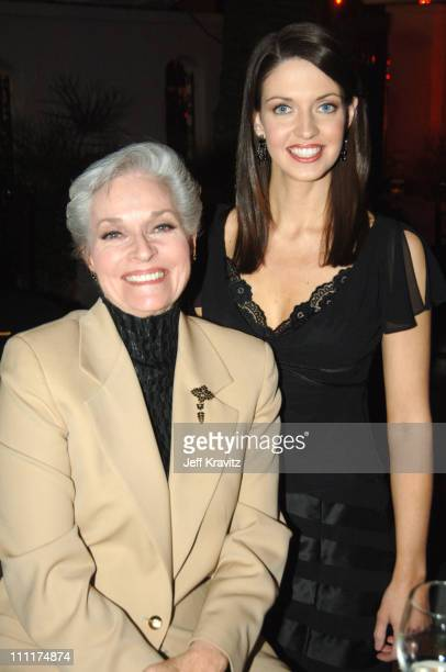 Lee Meriwether and Deidre Downs 2005 Miss America