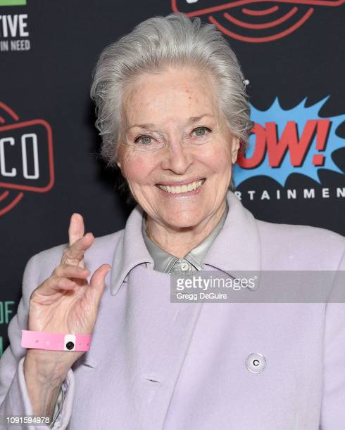 Lee Meriwether arrives at Excelsior A Celebration Of The Amazing Fantastic Incredible And Uncanny Life Of Stan Lee at TCL Chinese Theatre on January...