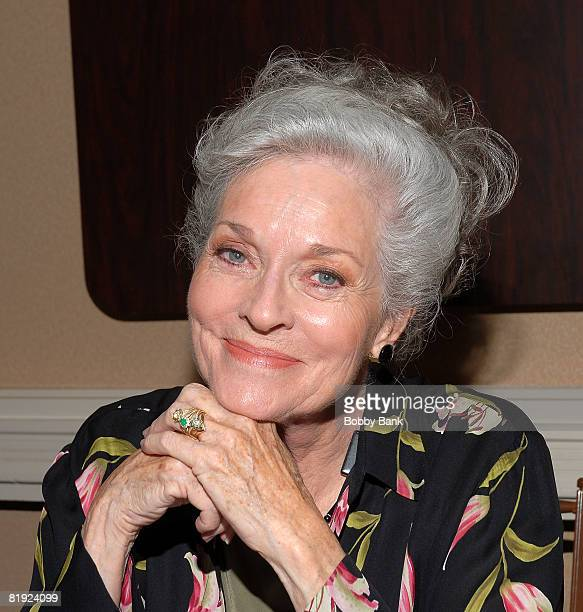 Lee Meriwether attends the 10th annual Super Megashow and Comic Fest at the Crowne Plaza Hotel on July 12 2008 in Fairfield New Jersey